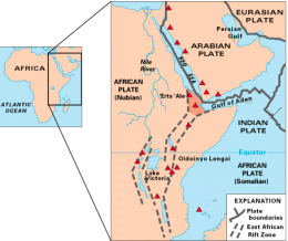 rift valley map